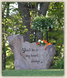 Select a quality grave marker or monument